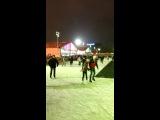 На катке в парке Горького 22 декабря 2013